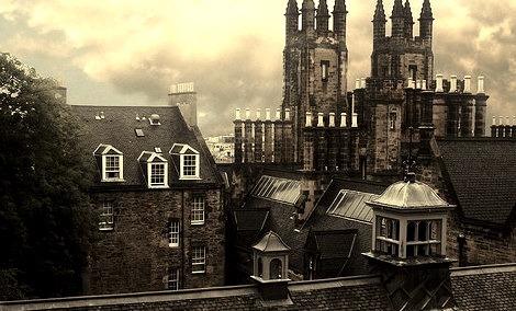 Steeples, Edinburgh, Scotland