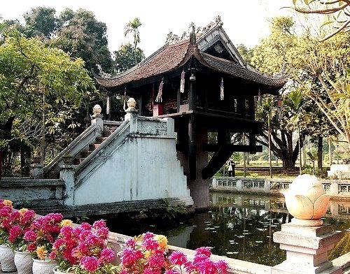 by Dragonsaur Long on Flickr.One Pillar Pagoda - Hanoi, Vietnam.