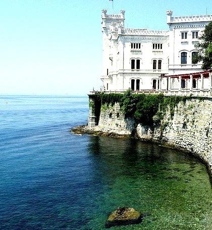 Seaside Castle, Venezia, Guilia, Italy