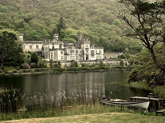 by russ david on Flickr.Kylemore Abbey in Connemara, County Galway, Ireland.