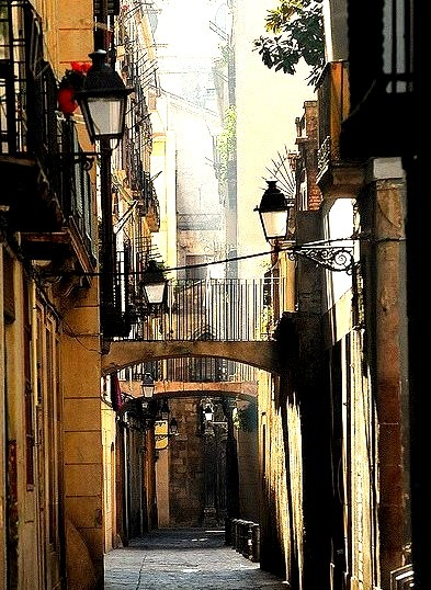 Side Street, Barcelona, Spain