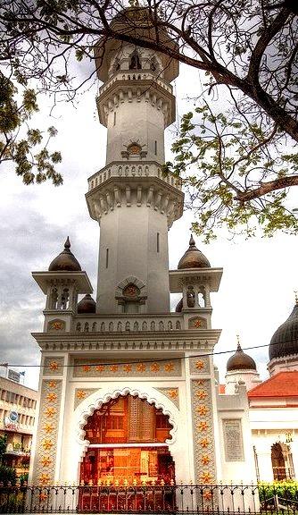 Kapitan Keling Mosque in Georgetown, Penang, Malaysia