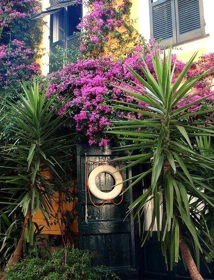 Inviting entrance in Sestri Levante, Italian Riviera