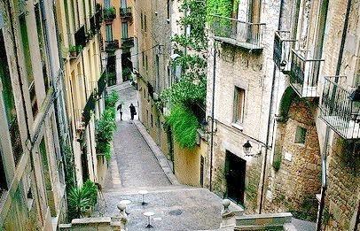 Steep Stairs, Girona, Spain