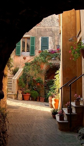 Passages of Capalbio, Tuscany, Italy