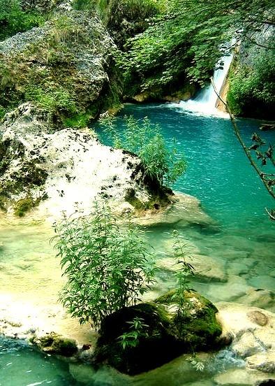Waterfall, Navarre, Spain