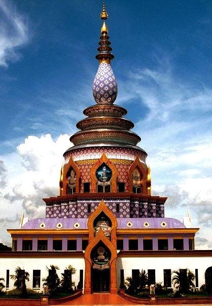 Wat Tha Ton temple in Chiang Mai Province, Thailand