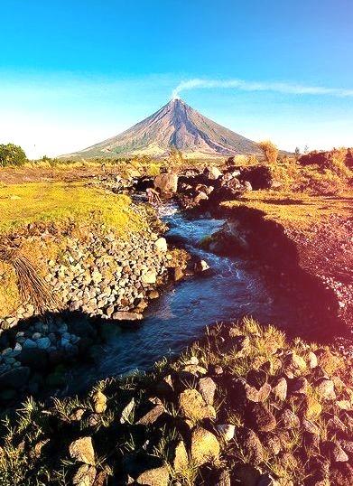 The pride of Bicolandia, Mayon Volcano, Philippines