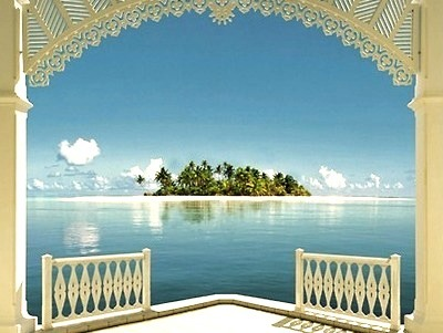 Framed Island, The Bahamas