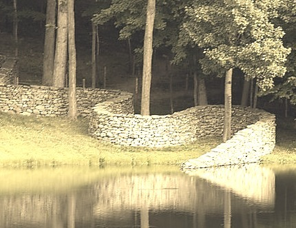 Stone Wall, Storm King, New York