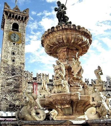 Fontana del Nettuno in Trento, Italy