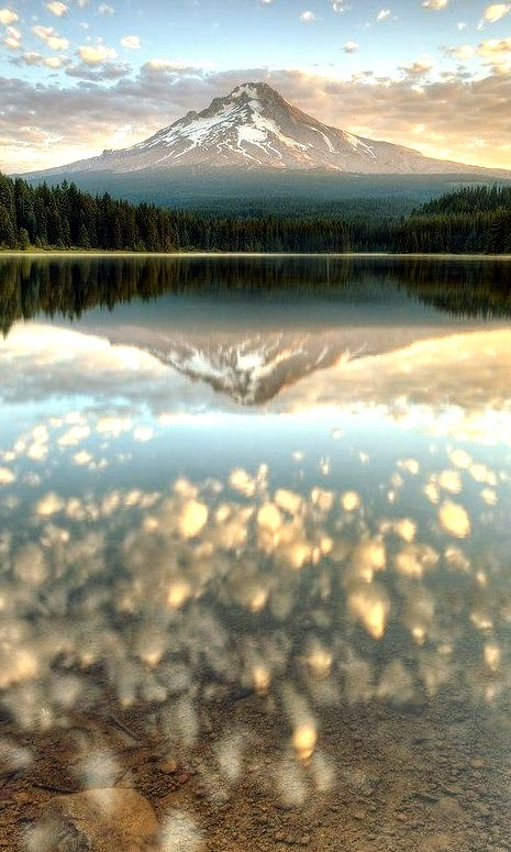 Reflection, Mt. Hood, Oregon