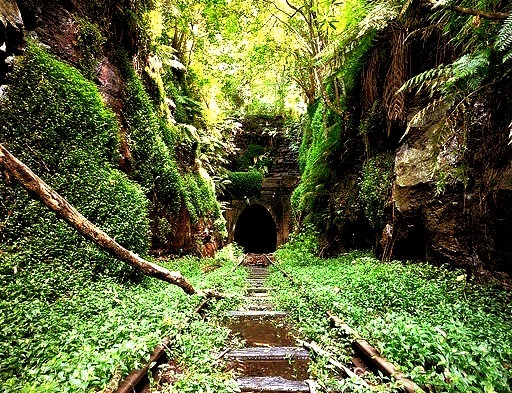Abandoned Railroad, New South Wales, Australia