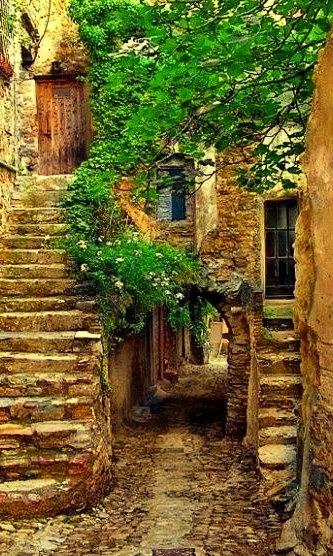 Ancient Passageway, Provence, France