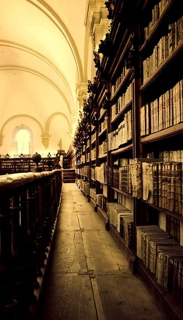 Ancient Library, Castille and Leon, Spain