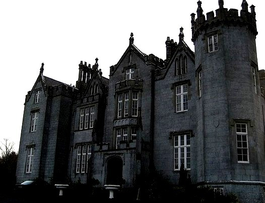 Kinnitty Castle in Co. Offaly, Ireland, is reportedly the home of many ghosts, the most popular of which is the Phantom Monk of Kinnitty