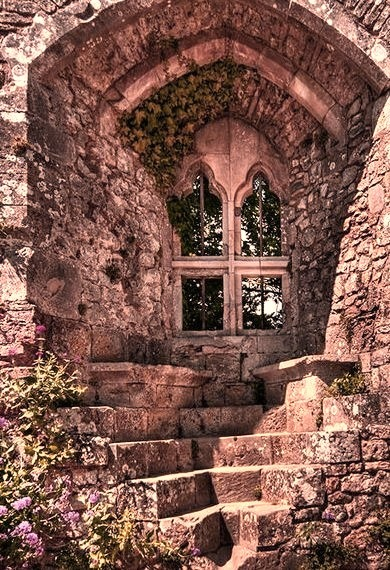 Isabella's Window, Carisbrooke Castle, Isle of Wight