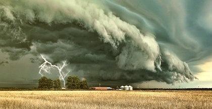 Storm Cell, Grand Prairie, Texas