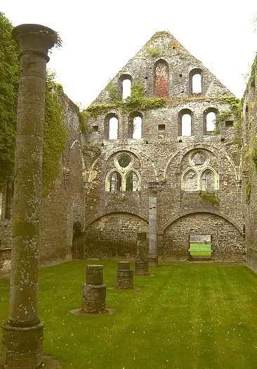 Abbaye de Villers la Ville in Wallonia, Belgium