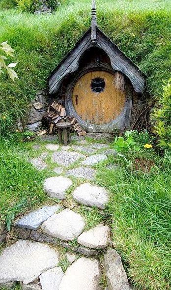 Steps to the Orange Door, Matamata, New Zealand
