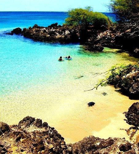 Hapuna beach, Big Island / Hawaii