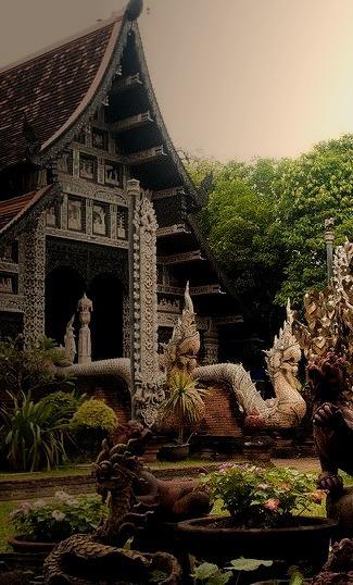 Wat Lok Molee Temple in Chiang Mai / Thailand
