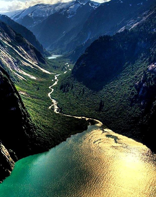 Tracy Arm Fjord / Alaska